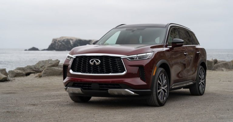 2022 Infiniti QX60 first drive review: A long overdue upgrade