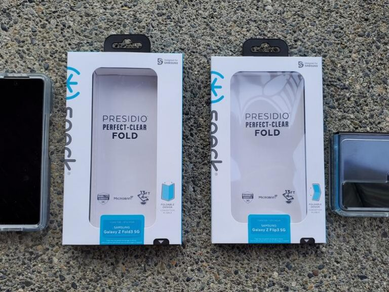 Speck Presidio Perfect Clear for Z Flip 3 and Fold 3: 13 foot drop protection for Samsung's latest